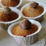 Muffin alle castagne e gocce di cioccolato, quando si cavalca un'onda…