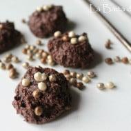 Biscottini morbidi al cacao e mandorle