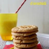 Cookies al burro d'arachidi
