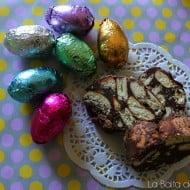 Salame al cioccolato, ovvero come riciclare le uova di Pasqua #1