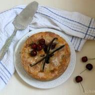 Cherry Pie con farina di farro