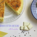 Japanese Cotton Cheesecake alla lavanda