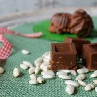 Idea regalo fai da te: cioccolatini al riso soffiato