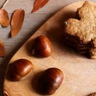 Frollini con farina di castagne e di nocciole