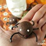 Biscotti ragno per Halloween