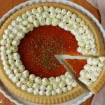 Crostata morbida con confettura e mascarpone