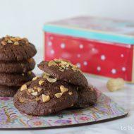 Biscottoni al cacao e burro d'arachidi