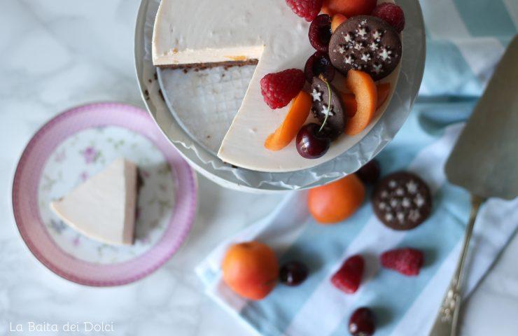 Yogurt Cake albicocche e pan di stelle